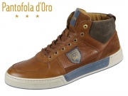 Pantofola d Oro Frederico Uomo Mid 10193032-JCU tortoise shell Leder
