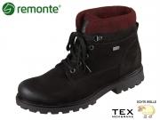 Remonte D7476-04 schwarz bordeaux schwarz Talamon Filz Eagle