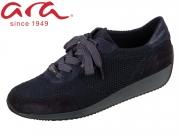ARA Lissabon Fusion 4 Goretex 12-44063-02 blau Velourhydro