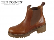 Ten Points Clarisse Elastic 238006-319 cognac Leder
