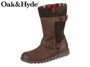 Oak&Hyde Coast Demi 2647 dk brown dk brown Cesar Leather Suede