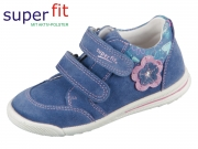 SuperFit Avrile Mini 4-09377-80 blau rosa Velour- Effektleder
