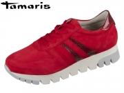 Tamaris 1-23741-23-591 Scarlet-Snake suede