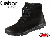 Gabor Rolling Soft 36.955-47 schwarz Nubuk Oil