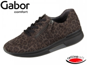 Gabor Rolling Soft 36.928-60 anthrazit Leopard Mini