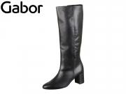 Gabor 35.809-27 schwarz Foulardcalf