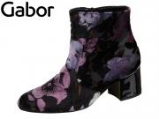 Gabor 35.810-54 schwarz viola fiore Tes Lack HT