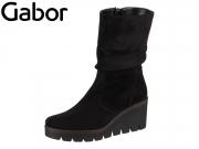 Gabor 34.781-40 schwarz Microvelour