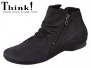Think! KESHUEL 85125-00 schwarz Nubuk Soft