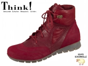 Think! MENSCHA 85075-74 cherry kombi Velour Grasso Capra