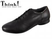 Think! GUAD 85276-00 schwarz Strasburgo Calf