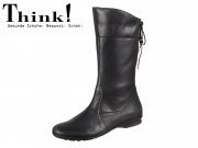 Think! KESHUEL 85119-00 schwarz Soft Calf veg