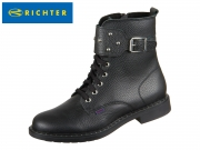 Richter 5851-642-9900 black Glattleder