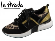 la strada Laced Up Sneaker 1807433-6091 leopard multi