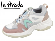 la strada Laced Up Sneaker 1900600-6003 combi grey