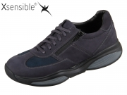 Xsensible SWX4-zipper 30084.2-220 navy Stretchleder