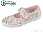 natural world W56025-03 rosa organic cotton