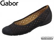Gabor 44.169-16 nightblue Nubuk Lavato