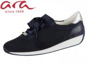 ARA Lissabon Fusion4 12-34027-47 blau grau Wovenstretch