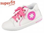 superfit MOPPY 0-606348-1000 weiss rosa Nappa Effektleder