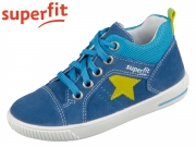 superfit MOPPY 0-609353-8000 blau gelb Velour Textil