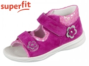 superfit Polly 0-600095-5500 rosa Velour Textil
