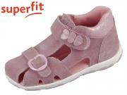 superfit FANNI 0-609042-9000 lila rosa Velour Effektleder