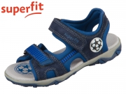 superfit MIKE 3.0 0-609465-8000 blau Velour Textil