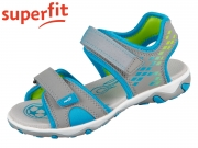 superfit MIKE 3.0 0-609466-2500 hellgrau blau Tecno Textil