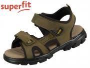 superfit SCORPIUS 0-606182-7000 grün schwarz Nubuk Textil