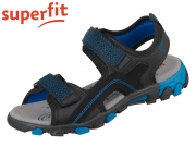 superfit HIKE 6-00451-01 schwarz Tecno Textil