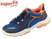 superfit Jupiter 0-606071-8000 blau orange Tecno Velour