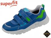 superfit BLIZZARD 0-609323-8000 blau grün Velour Tecno Velour