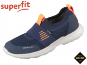 superfit RUSH 6-06214-80 blau orange Textil Tecno