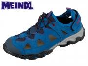 Meindl Rudy Junior 2056-73 ozean Velourleder