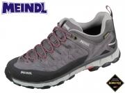 Meindl Lite Trail Lady GTX 3965-63 steingrau rose Velour-Mesh