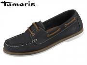 Tamaris 1-23616-24-805 navy Leder
