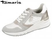 Tamaris 1-23702-24-197 white Leder Textil