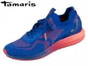 Tamaris 1-23714-24-813 electric blue neon Textil Synthetik