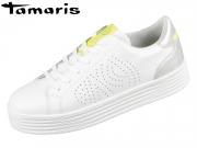 Tamaris 1-23788-24-197 white combi Leder Synthetik