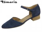 Tamaris 1-24210-24-805 navy Leder