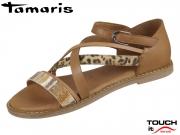 Tamaris 1-28162-24-388 cognac Leder