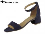 Tamaris 1-28253-24-806 navy Leder