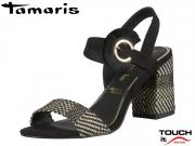 Tamaris 1-28326-24-098 black combi Textil