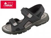 Rieker 26156-02 schwarz grigio Oilybuk Scuba Airmesh