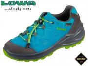 Lowa Diego II GTX Lo 640150-6003 blau limone GTX