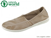 natural world Camping 615E-621 beige enz Baumwolle