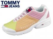 Tommy Hilfiger Heritage Tommy Jeans Sneaker EN00861-ZIO Frozen Lemon