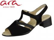 ARA Lugano S Highsoft 12-35736-08 schwarz Samtchevro