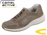 camel active Fusion 555.11-02 peat Suede Mesh